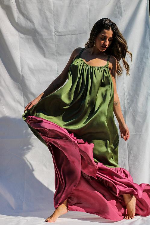 ''Anemos'' silk dress