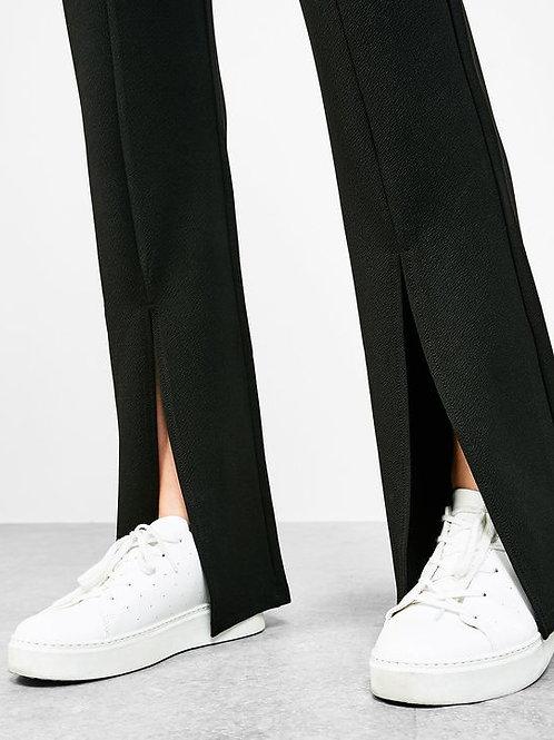"""Nina"" front split pants"