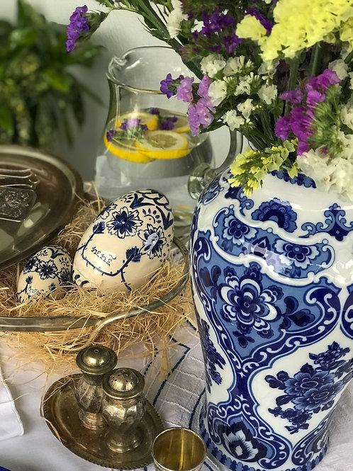 Handmade Ceramic egg - 13cm