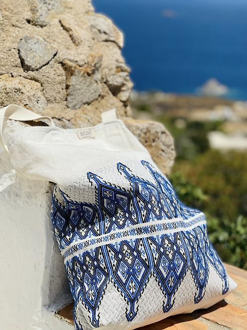 'Spitha' bag blue