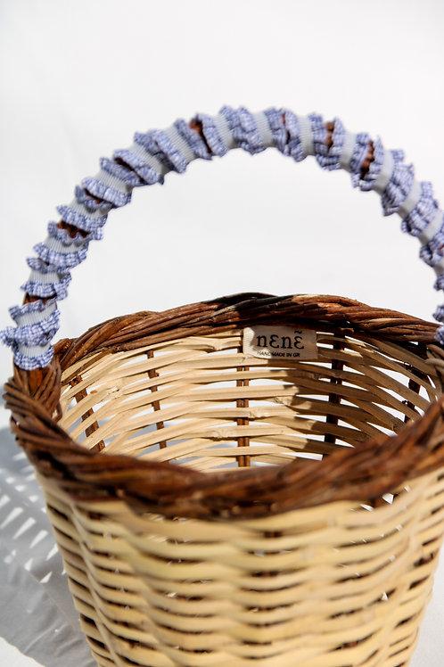 ''Jane Birkin'' basket bag blue