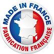 Fabrication française, création francaise.