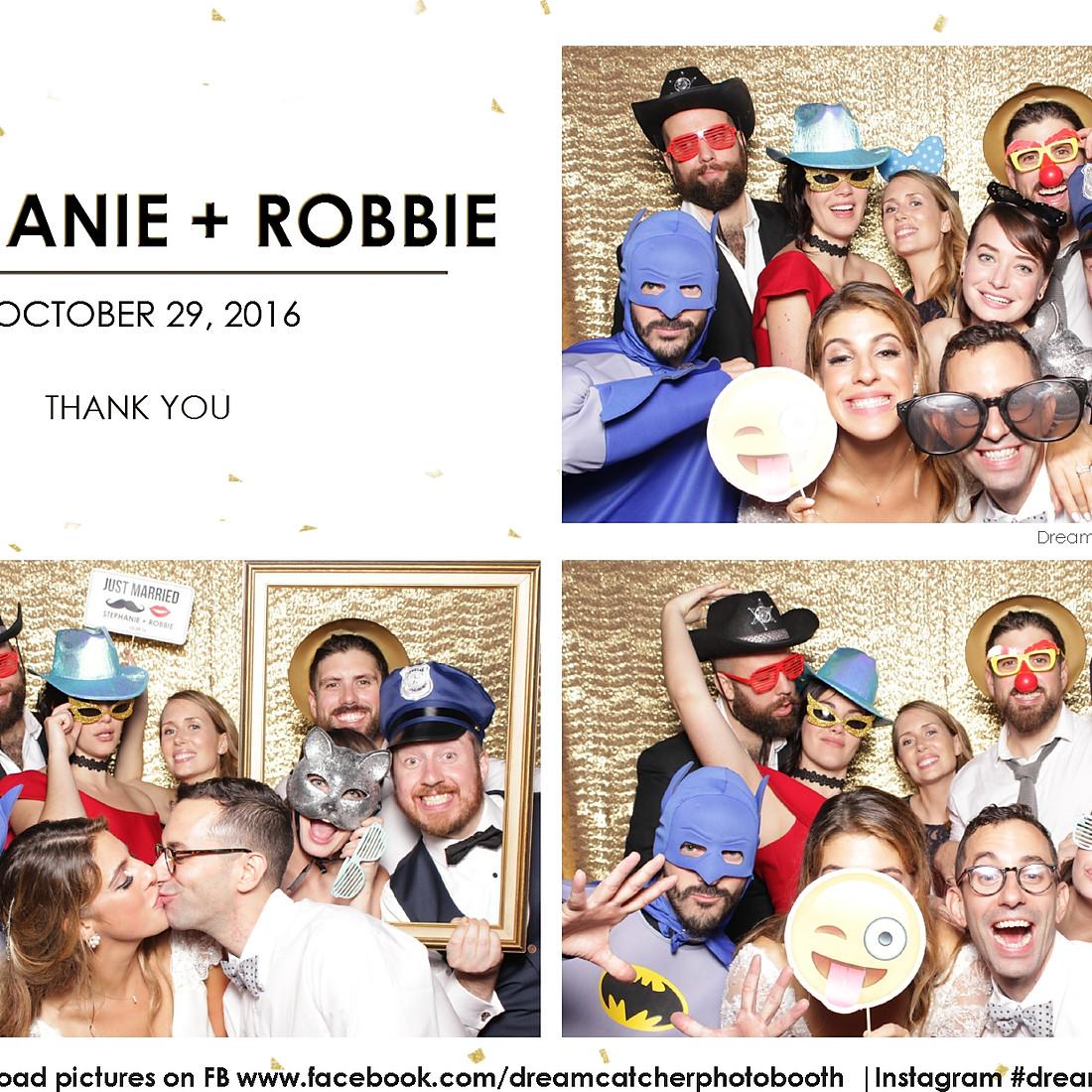 Stephanie + Robbie's Wedding