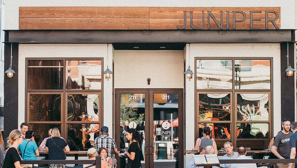 Juniper Patio on 8th Street, Boise, Idaho