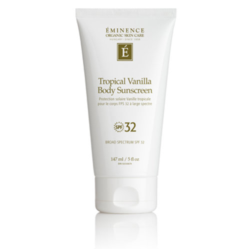 Tropical Vanilla Body Sunscreen SPF 32