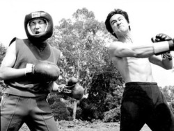 Bruce Lee and Ted Wong