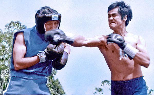 Bruce Lee & Ted Wong