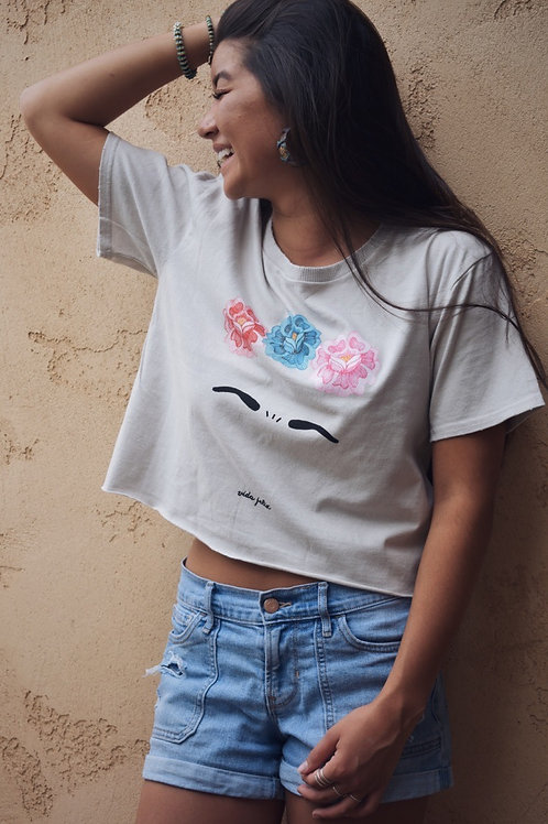 Frida Kahlo Crop Top