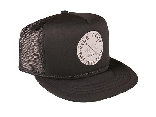 Black Fuel Your Future Hat - Low Profile