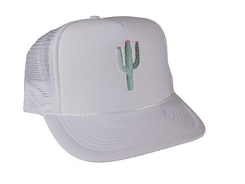 White VF Cactus Hat - Low Profile