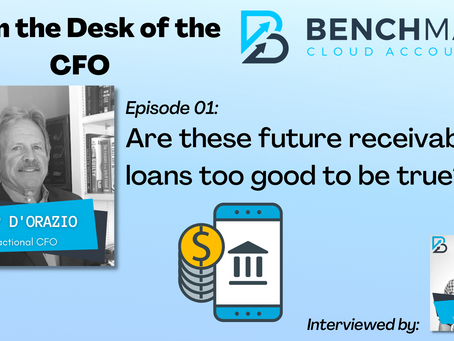 From the Desk of the CFO