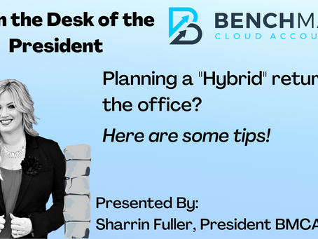 """Planning a """"Hybrid"""" return to the office? Here are some tips."""