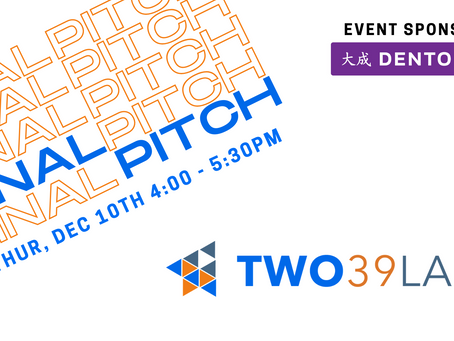 TWO39 LABS Final Pitch! See who wins $5000!