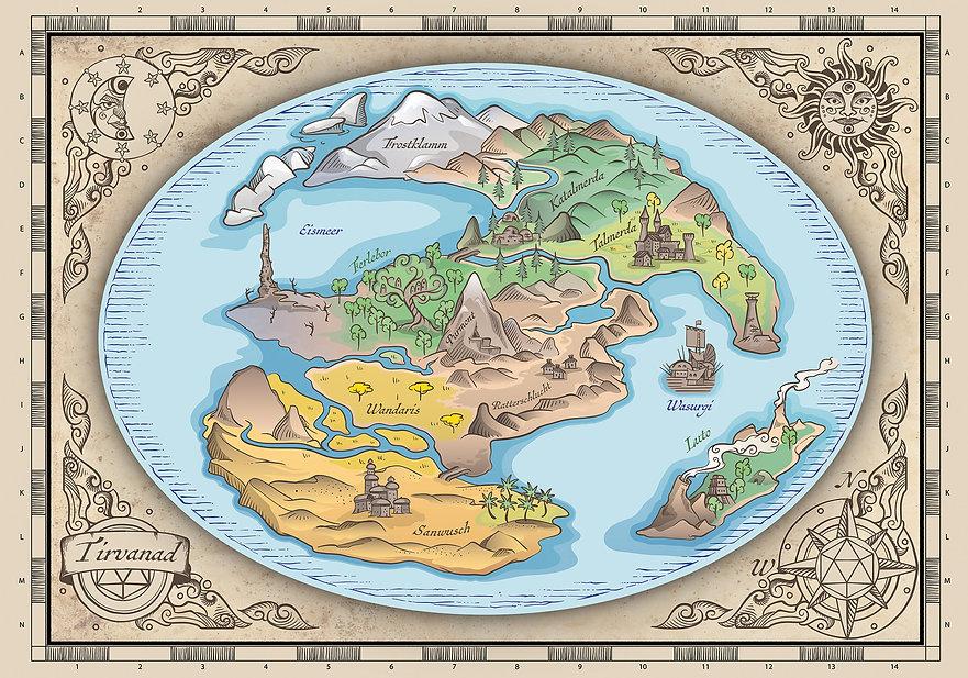 Tirvanad Karte