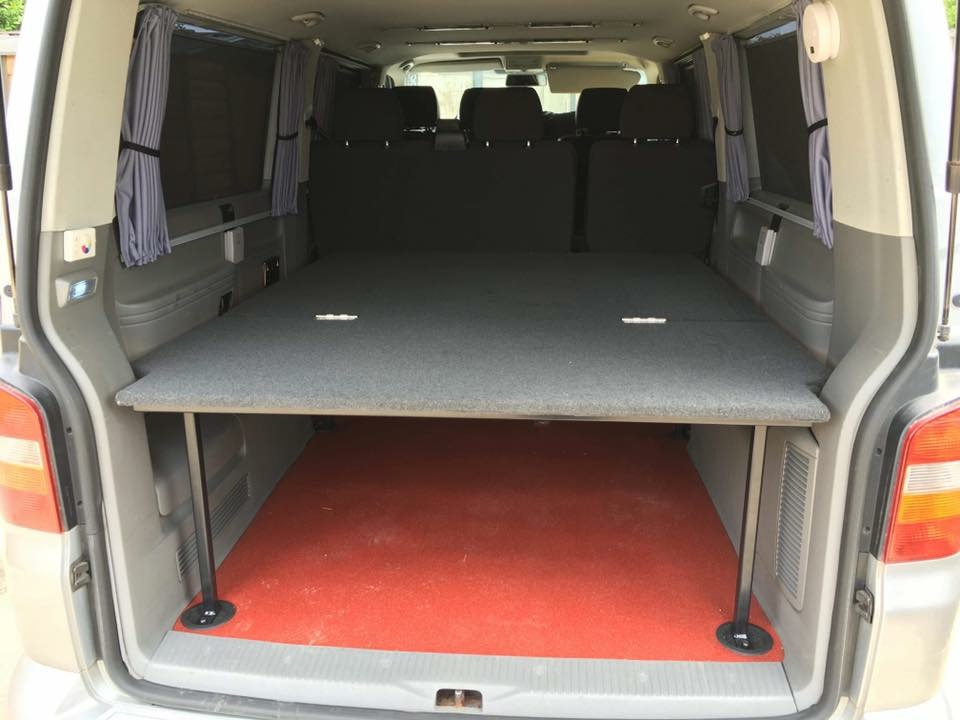 LWB kombi bed in Shuttle