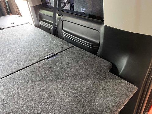 LWB Shuttle Bed / Platform - Fully Carpeted