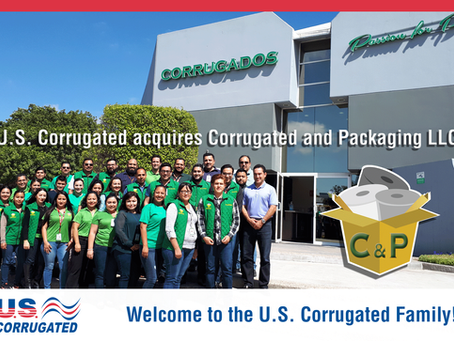 U.S. Corrugated acquires majority interest in Corrugated and Packaging, LLC
