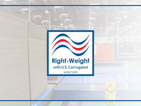 Right-Weight With U.S. Corrugated