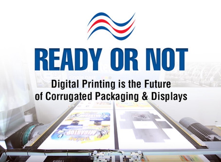 Digital Printing is the future of corrugated packaging
