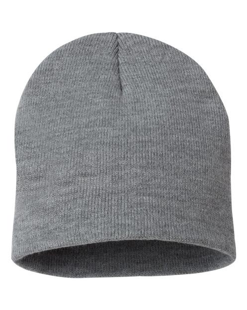 bfe22b5dbd1 Add Your Logo or Custom Design  100% acrylic knit  USA-made  8 1 2