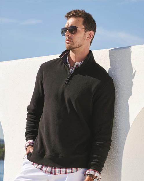 04d2d89887df8 Tommy Hilfiger - Bill Quarter-Zip Pullover Sweatshirt