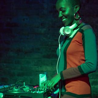 DJing in Minneapolis, Minnesotta for rapper Henny Velure