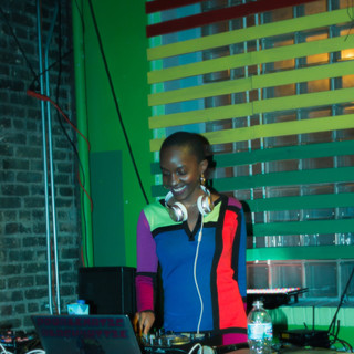 Playing in Minneapolis, Minnesota with rapper Henny Velure
