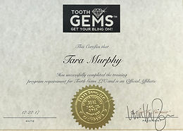 Tooth Gems Certified