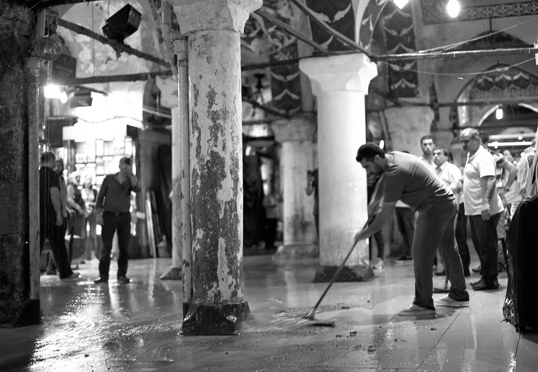 Flooding in the Grand Bazaar I, 2017