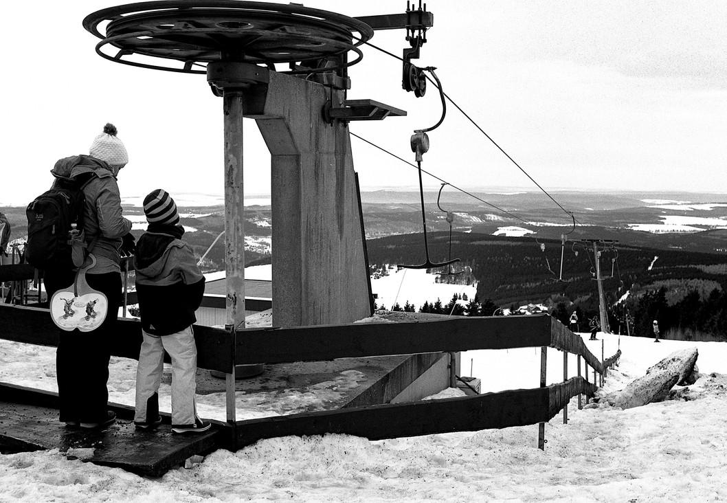 Ski Lift at Erzgebirge, 2017