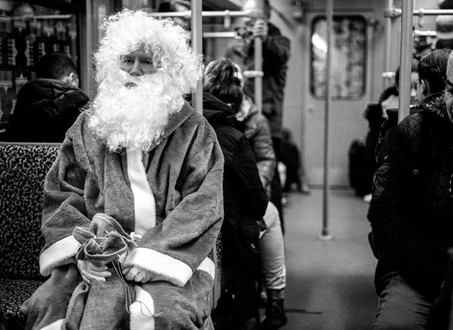 St. Nikolaus on the Subway, 2018