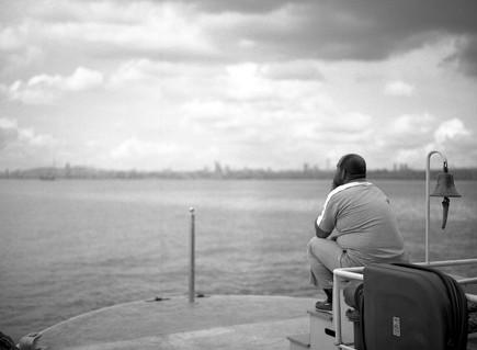 A Ferryman in Istanbul, 2017
