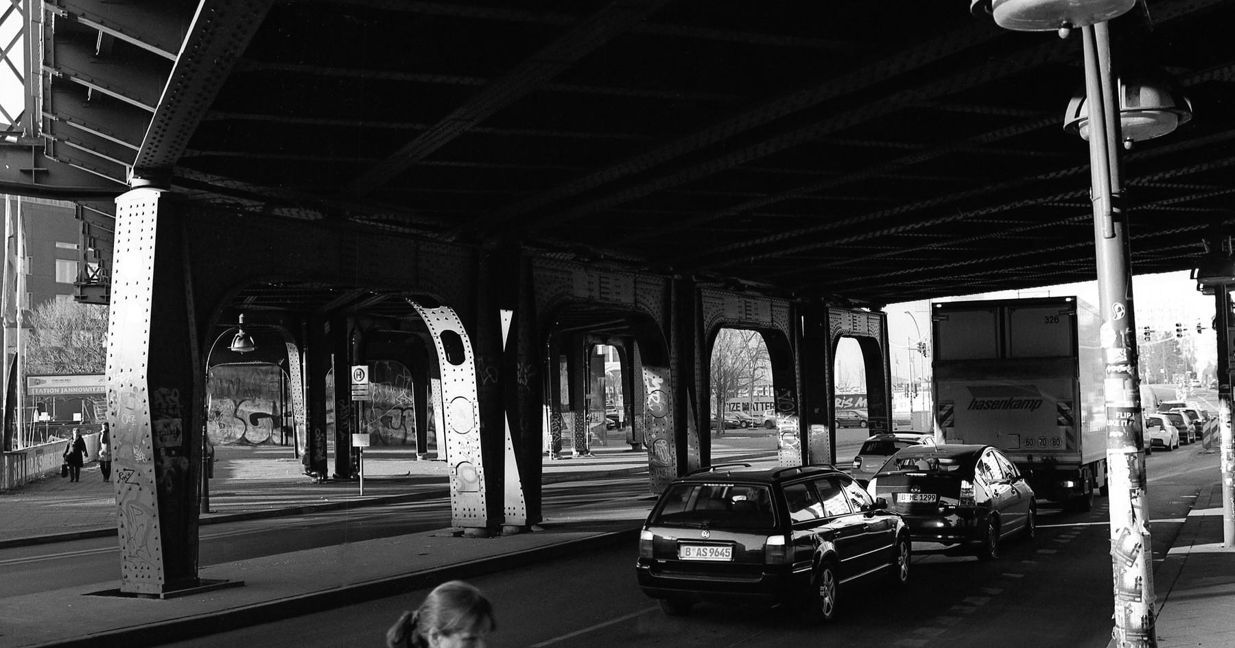 Woman under a Bridge, 2017
