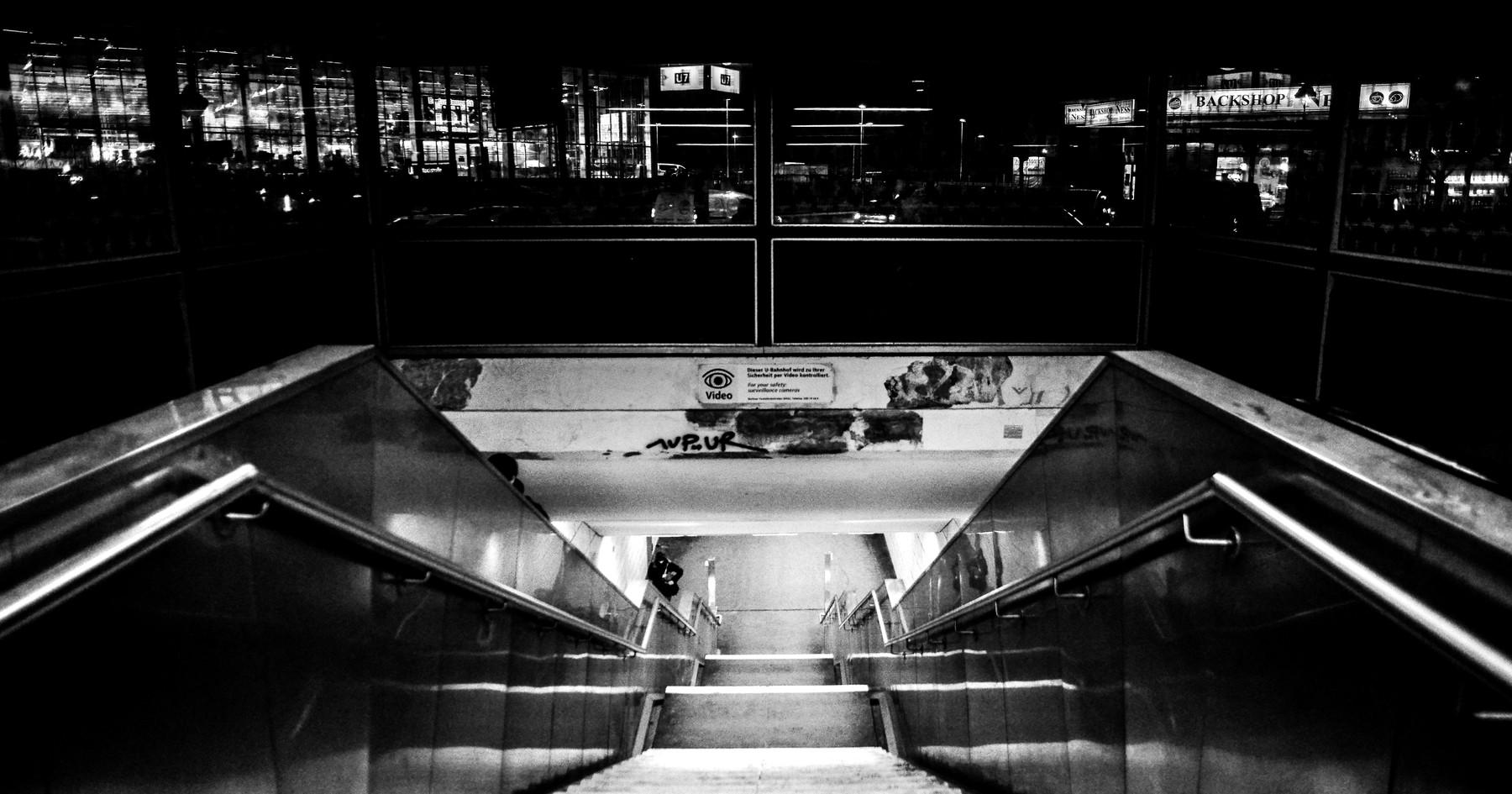 U7 Yorkstraße Entrance, 2017