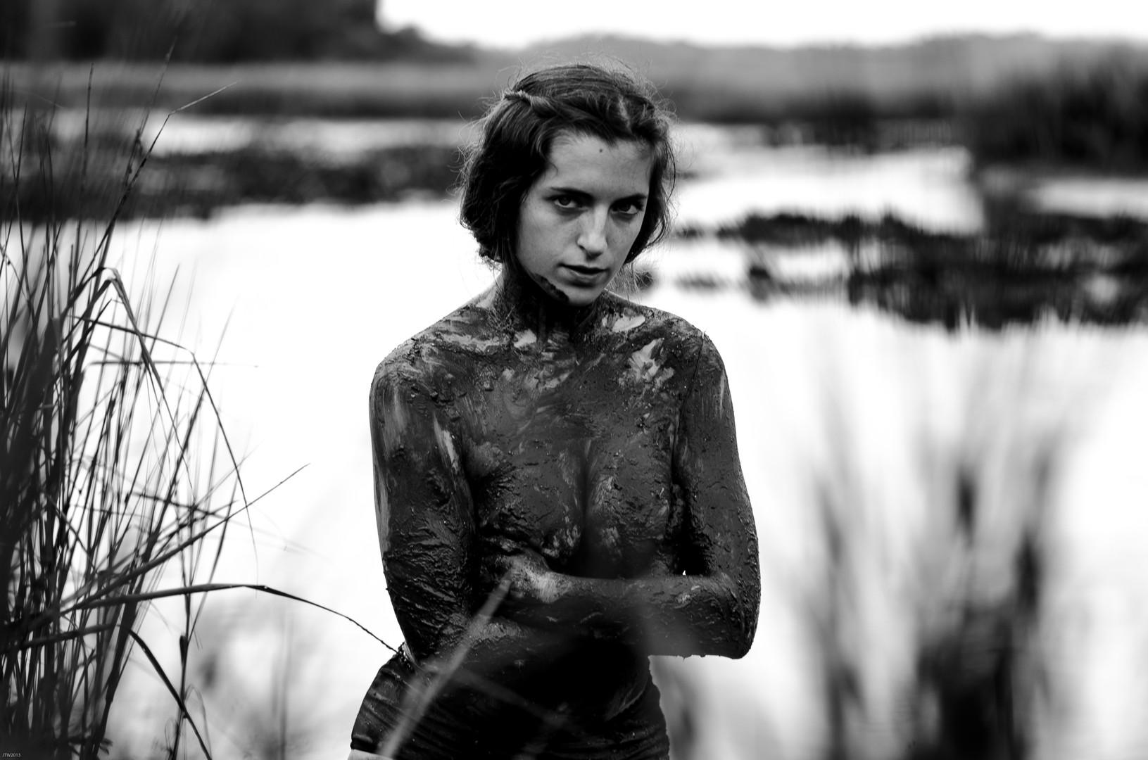 Caroline in Mud, 2015