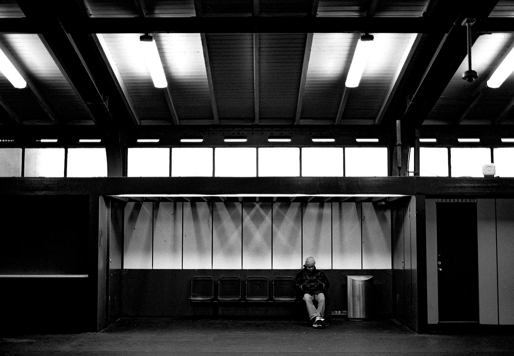 Alone at Möckernbrücke, 2018