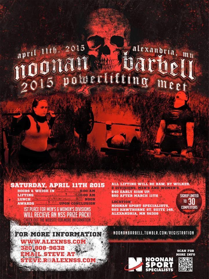 Power Meet Flyer