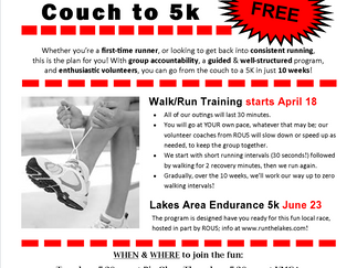 FREE Couch to 5k Program