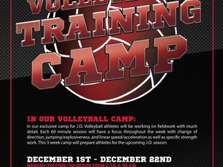 J.O. Volleyball Training Camp 2016