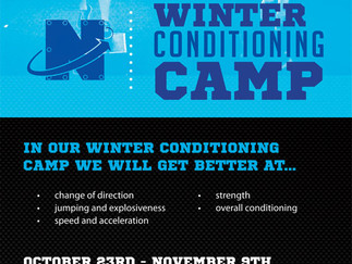 Winter Conditioning Camp 2017