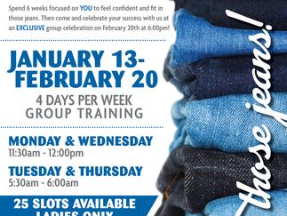 January Jeans Challenge