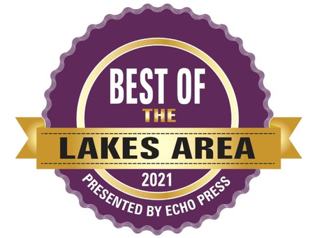 NSS Nominated for Best of the Lakes Area