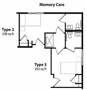 Memory Care Floor Plan 2