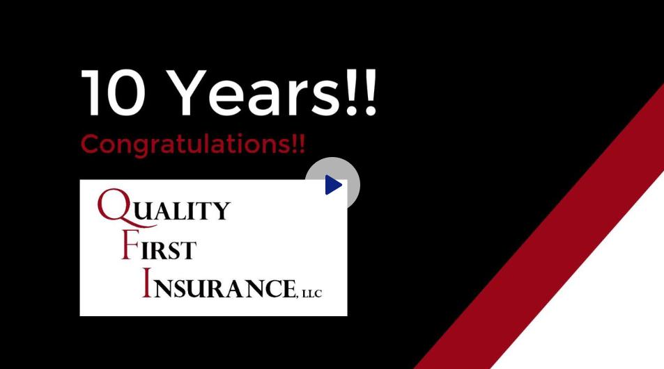 QFI 10 Year Anniversary Video