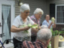 Residents Having Fun