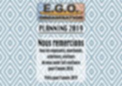 couverture site PLANNING EGO ORGANISATIO