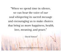 Spiritual Awakening Notes