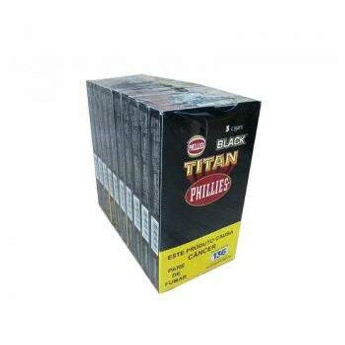 Charuto Titan Black  – Pacote com 10 Petacas com 5 unidades cada