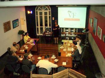 Apresentação dos Vinhos VF no Espaço Ideal Vinhos
