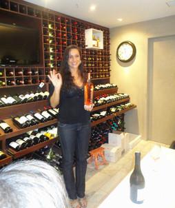 Apresentação dos vinhos VF na loja Safra Wine Store 2